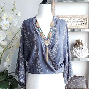 JAPNA  Kimono top NWT